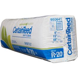 "R20 x 15"" Fiberglass Insulation, covers 50 sq. ft. thumb"