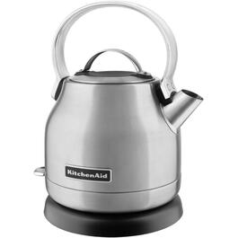 1.25 Litre 1500 Watt Cordless Polished Stainless Steel Dome Kettle thumb