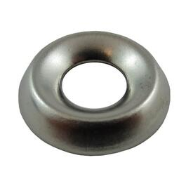 10 Pack #12 Nickel-Plated Steel Finish Washers thumb