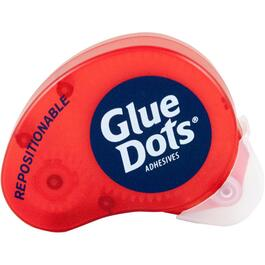 Glue Dots 5 Sheets Cut to Size Repositionable Adhesive