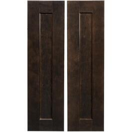 "2 Pack 33"" Midnight Corner Base Cabinet Doors thumb"