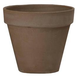 "12"" Chocolate Standard Clay Planter thumb"