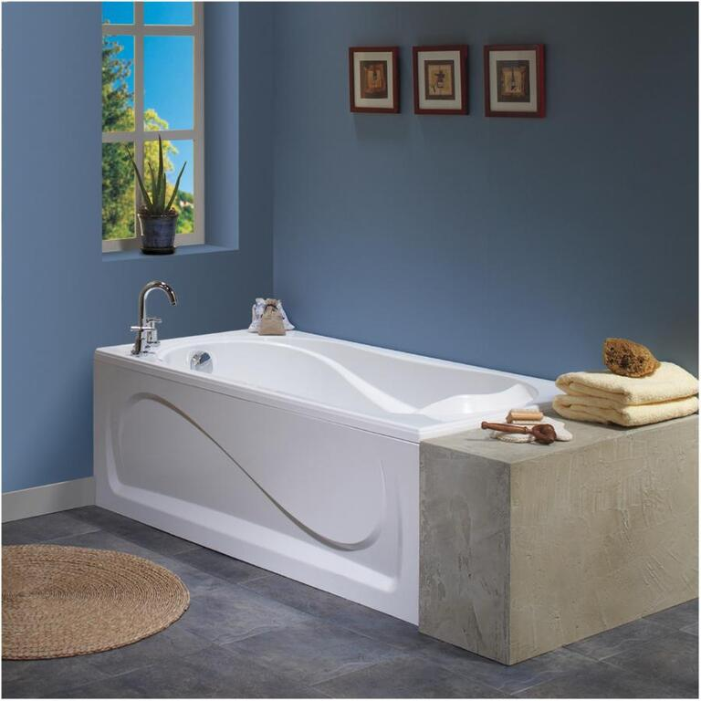 Cocoon White Whirlpool Bath Tub - Home Hardware