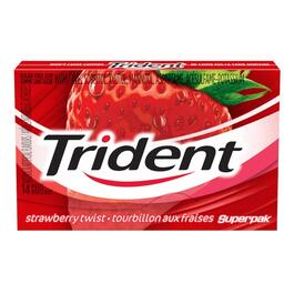 14 Piece Trident Layers Wild Strawberry Gum thumb