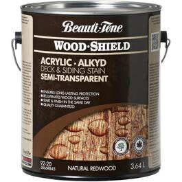 3.64L Semi Transparent Redwood Alkyd Acrylic Wood Stain thumb