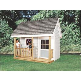 8' x 6' Storage Shed Playhouse Package thumb