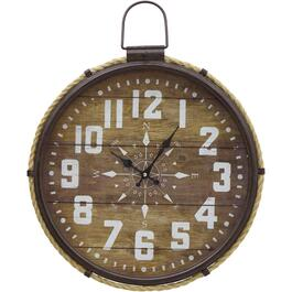 "18"" Round Wall Clock, with Rope thumb"