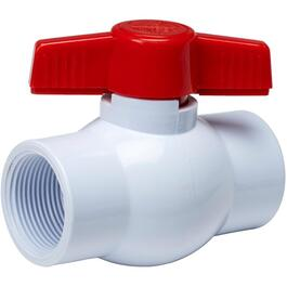 "1-1/4"" Threaded PVC Ball Valve thumb"