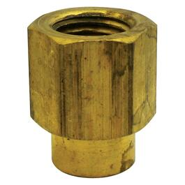 "1/4"" x 1/8"" Brass Reducing Coupling thumb"