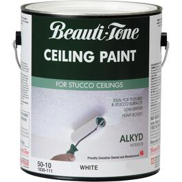 3.7L Interior Flat White Alkyd Ceiling Paint thumb