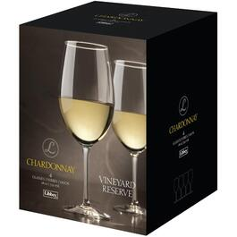 4 Pack 18oz Vineyard Reserve Chardonnay Wine Stemware Set thumb