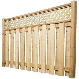 6' Spruce Sanded One Side Fence Package thumb