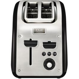 Maison 2 Slice Stainless Steel Toaster, with Extra Wide Slots thumb