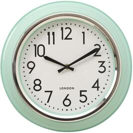 "14"" Mint Peggy Round Wall Clock thumb"