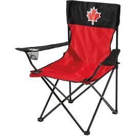 Adult Red/Black Canada Day Camp Chair thumb