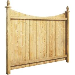5' Pressure Treated Banff Privacy Fence Package thumb