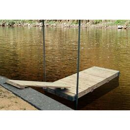 8' x 16' Floating Dock Package thumb