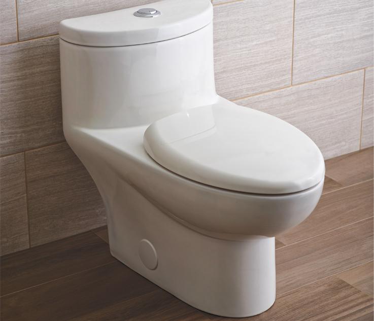 American Standard White 16 12 Studio Dual Flush Round Toilet