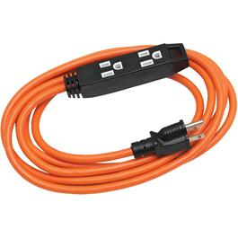 3M 3 Outlet SJTW 16/3 Extension Cord thumb