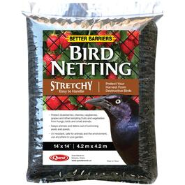 14' x 14' Black Stretchy Bird Netting thumb