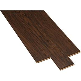 "11.45 sq. ft. 5""x 48"" Reclaimed Walnut Laminate Plank Flooring thumb"