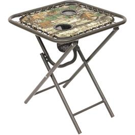 "18"" x 18"" Folding Bungee Side Table thumb"