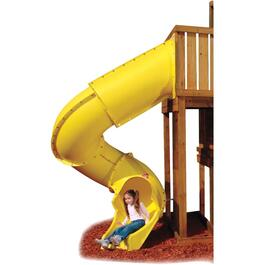Yellow Turbo Tube Slide, for 7' Deck thumb