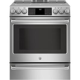 "30"" 5.6 cu. ft. Stainless Steel Induction Oven thumb"