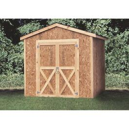 10' x 10' Stick Built Gable Shed Package, with Vinyl Siding thumb