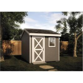 8' x 8' Basic Side Entry Gable Shed Package thumb