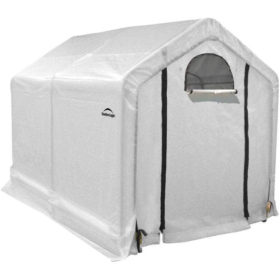 Shelter Logic 6 X 8 X6 Growit Backyard Greenhouse Home Hardware Growit backyard greenhouse reviews