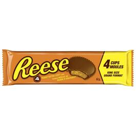 62g Reese King Size Peanut Butter Cup Chocolate Bar thumb