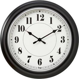 "24"" Black Wood Smash Wall Clock thumb"