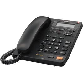 Black Cord Answerphone, with Big#'s thumb