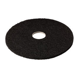 "5 Pack 20"" Black Floor Stripping Pads thumb"