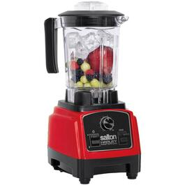 Red/Black Harley Pasternak Compact Power Blender, with Vortex Jar thumb