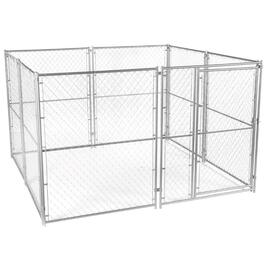 10' x 10' x 6' Modular Chain Link Dog Kennel thumb