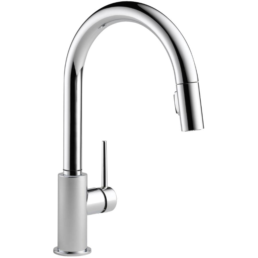 Trinsic Chrome Pull Down Kitchen Faucet Thumb