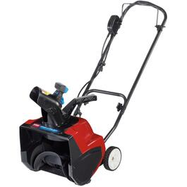 "12 Amp 15"" Electric Power Curve Snow Thrower thumb"