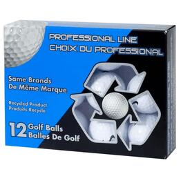 12 Pack Re-Used Professional Golf Balls thumb