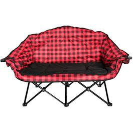Red/Black Adult Bear Buddy Camp Chair thumb