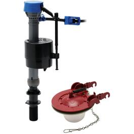 "Floatless Fill valve Kit, with 3"" Flapper thumb"