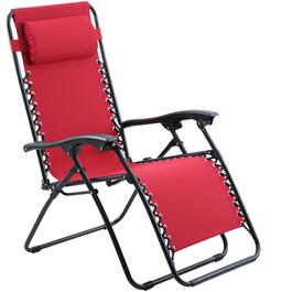 Red Oxford Zero Gravity Chair thumb