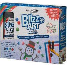 4 x 170g Blizzart Chalk Spray Kit thumb