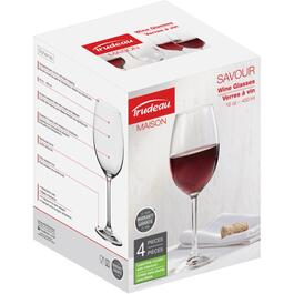 4 Pack 16oz Red Savour Wine Stemware Set thumb