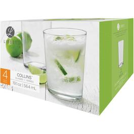 4 Piece 19.1oz Collins Tumbler Set thumb
