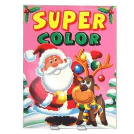 Christmas Super Colouring Book, Assorted Books thumb