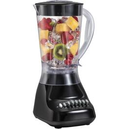 575 Watt 10 Speed Black Blender, with Plastic Jar thumb