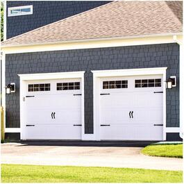 9' x 8' 9605 R11 Steel Garage Door thumb