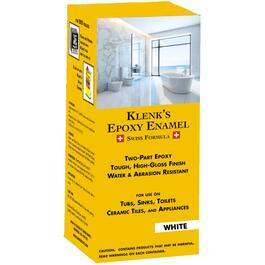 500mL White Epoxy Enamel Paint thumb
